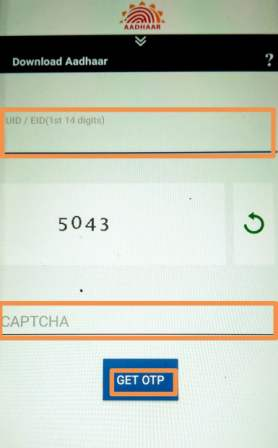 download aadhaar on phone